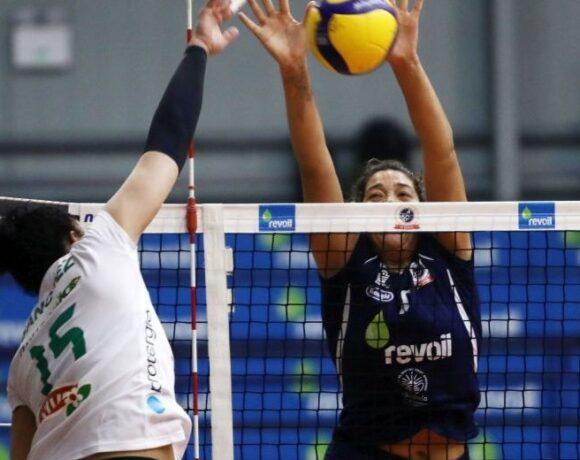 Α1 γυναικών, Μαρκόπουλο-Παναθηναϊκός 3-1: Το πρώτο μπαμ