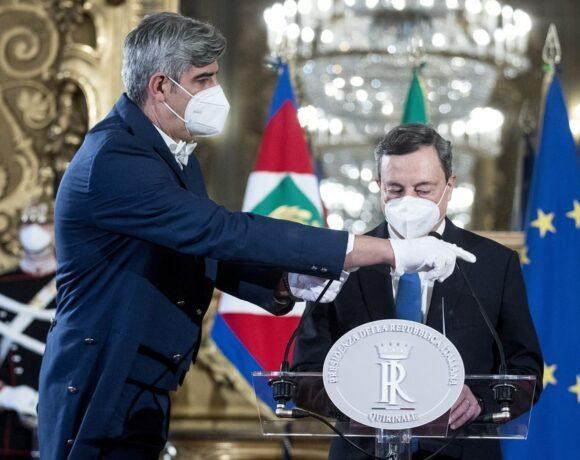 Αλλαγή σελίδας στην Ιταλία – Ορκίστηκε η νέα κυβέρνηση του Μάριο Ντράγκι (Vid)