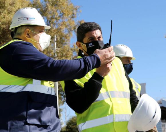 Αυγενάκης: «Φτιάχνουμε το μεγαλύτερο κέντρο υγρού στίβου στην Ευρώπη»