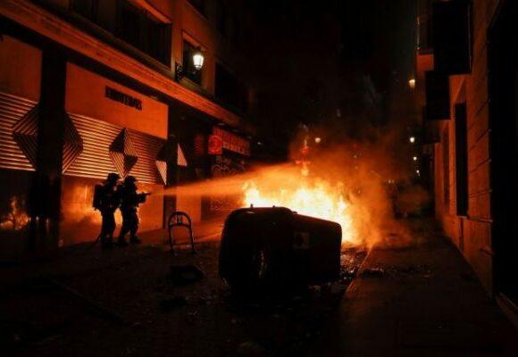 Ισπανία : Συγκρούσεις μεταξύ αστυνομίας και διαδηλωτών