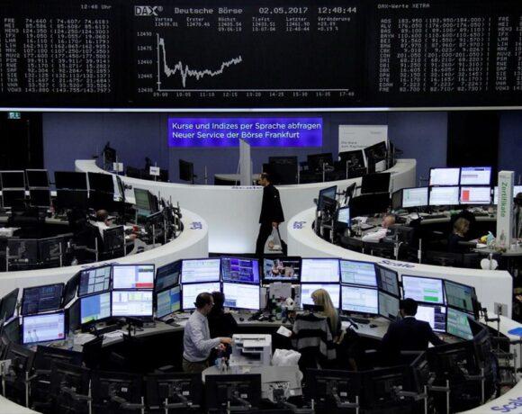 Μικτά πρόσημα στις ευρωαγορές – Άνοδο 2,7% για τον τραπεζικό κλάδο