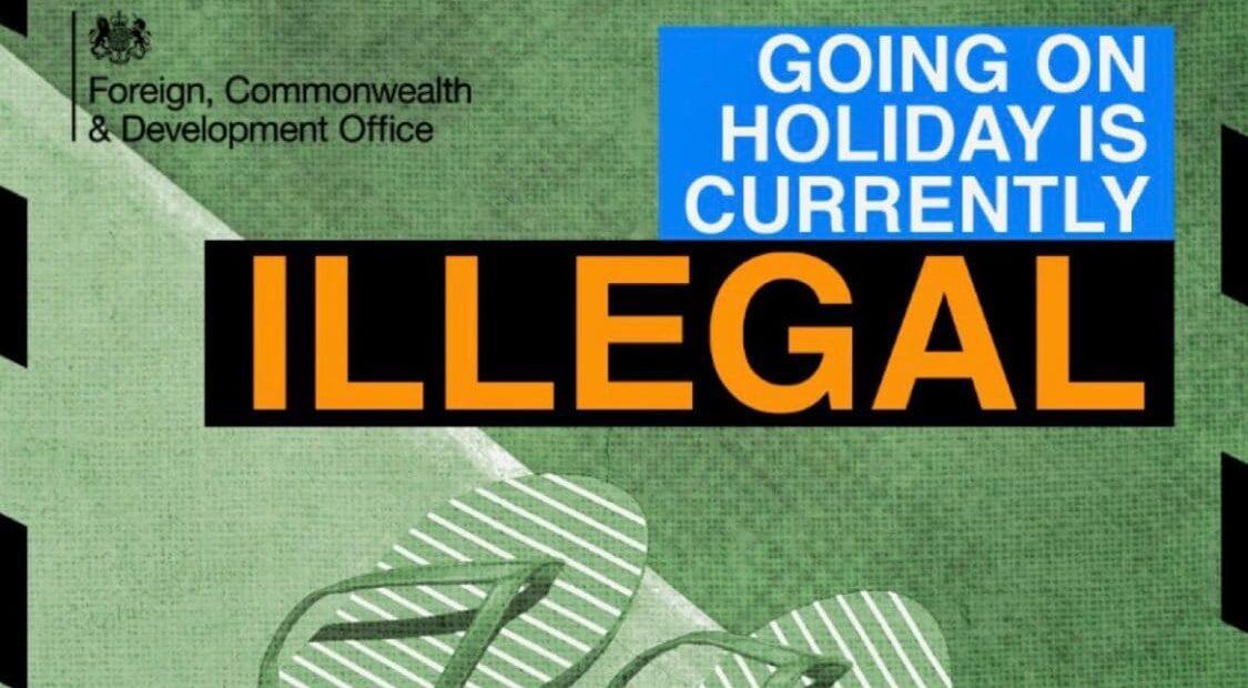 Παράνομες (!!!) οι διακοπές λέει καμπάνια της κυβέρνησης στην Βρετανία   ΦΩΤΟ   Ελπίδες για το Καλοκαίρι, αν…