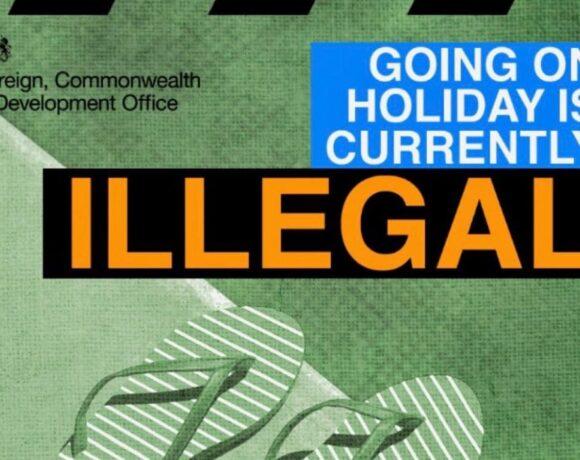 Παράνομες (!!!) οι διακοπές λέει καμπάνια της κυβέρνησης στην Βρετανία | ΦΩΤΟ | Ελπίδες για το Καλοκαίρι, αν…