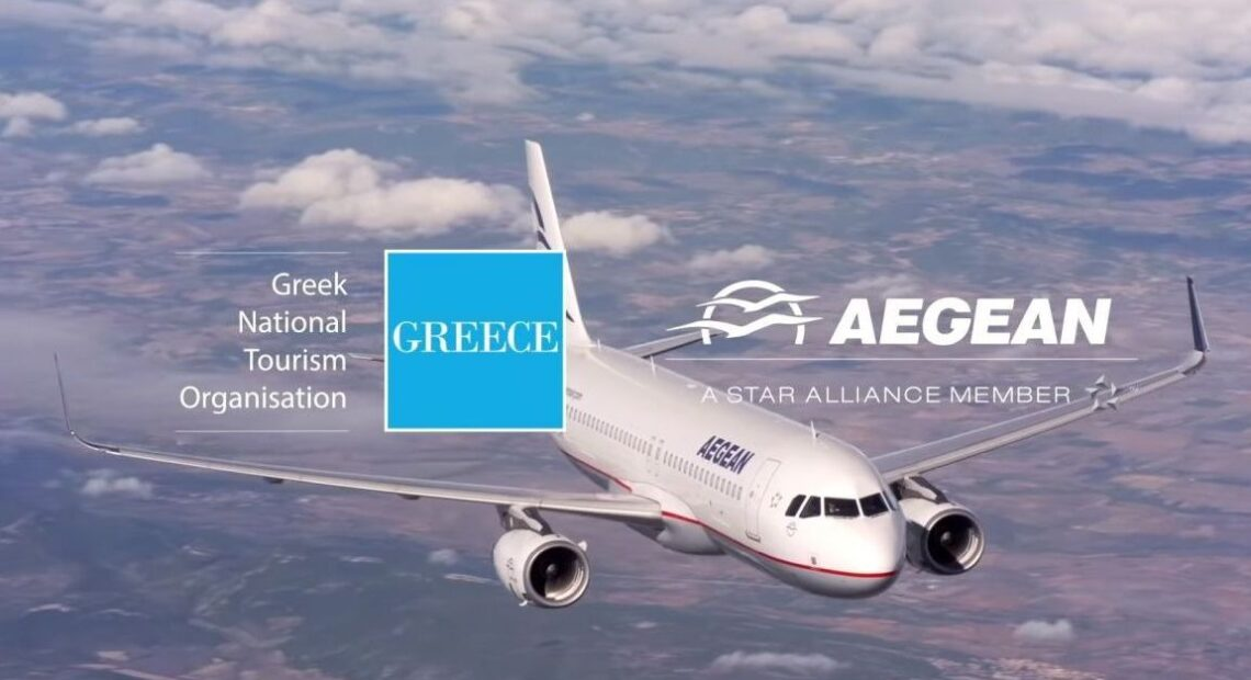 GNTO and AEGEAN Join Forces Again to Promote Greece