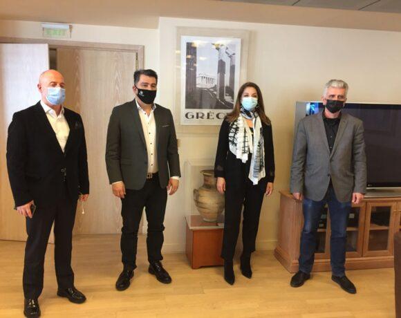 GNTO Explores Ways to Promote Athens Abroad
