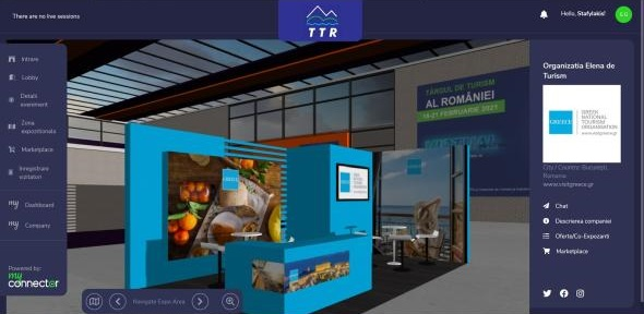 Greece's Stand Among 'Most Visited' at Romania's TTR Virtual Expo 2021