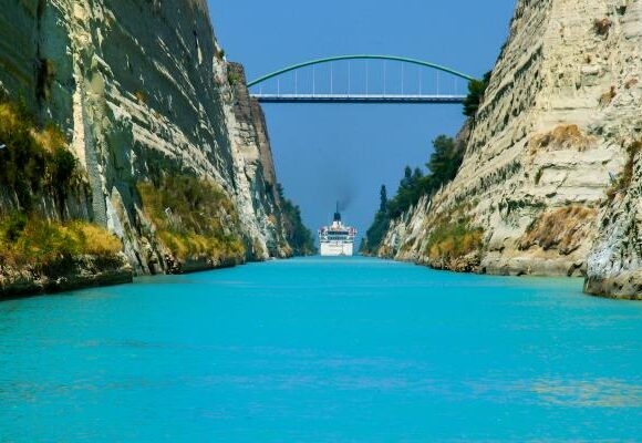 Greek Ministry Releases Funds for Corinth Canal Repairs