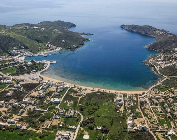 Infrastructure Works Taking Place on Ios Island