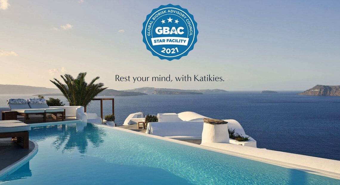 Katikies Santorini Achieves GBAC STAR Facility Accreditation