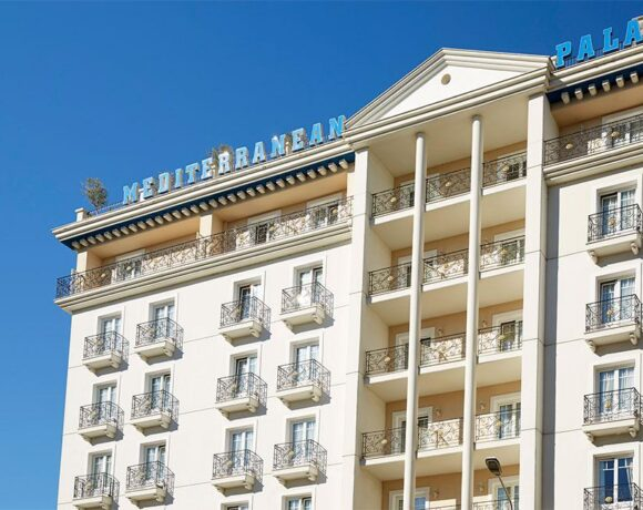 Mediterranean Palace Hotel Gets Green Key Award for Sustainability Program