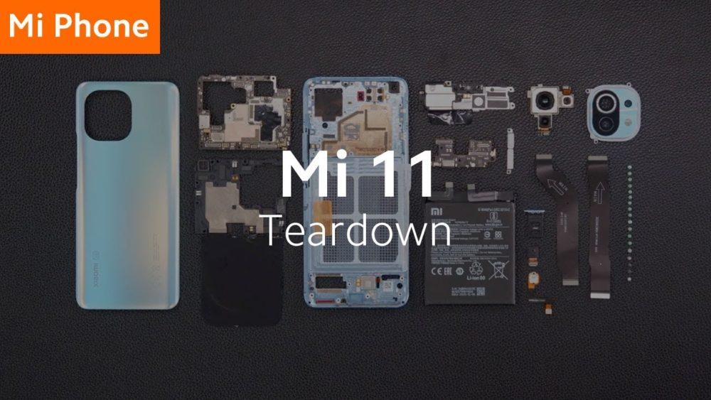 Xiaomi Mi 11: Βίντεο tear down το παρουσιάζει ότι είναι εύκολο να επισκευαστεί