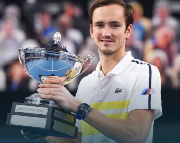 10ος τίτλος για τον Μεντβέντεφ στο ATP tour