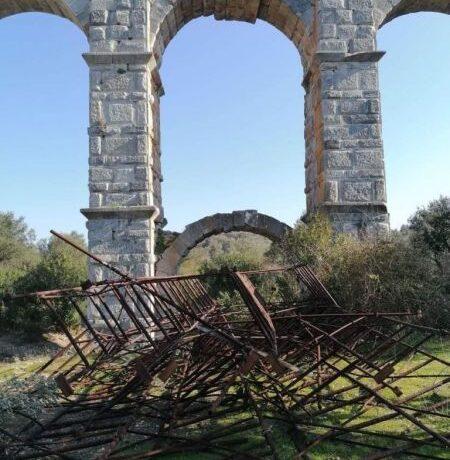 Μελέτη για την αξιολόγηση της κατάστασης του ρωμαϊκού υδραγωγείου της Μόριας