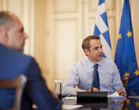 Μητσοτάκης στο υπουργικό για Εθνικό Σχέδιο Ανάκαμψης: Πρόγραμμα €60 δισ. & 200