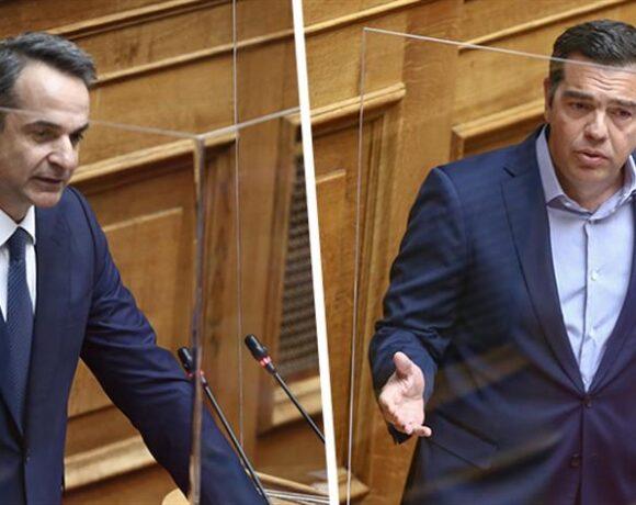 Ξεκίνησε η κόντρα Μητσοτάκη – Τσίπρα για τη βία – LIVE Βουλή