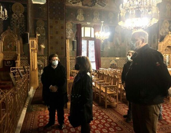 Πεδίο του Άρεως : Ο «νεοβυζαντινός» ναός του Αγίου Χαραλάμπους διά χειρός Φώτη Κόντογλου