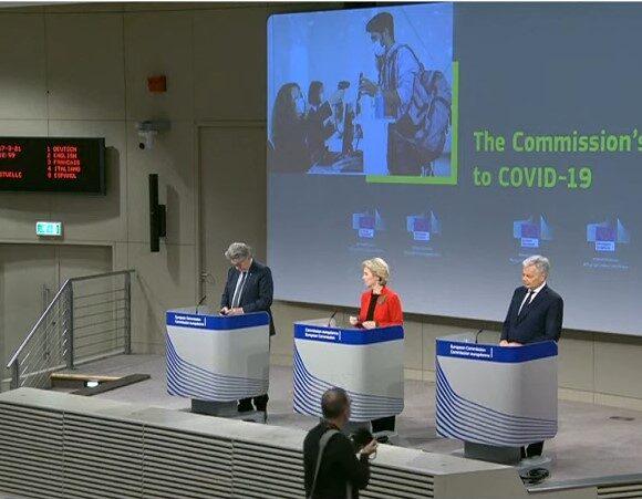 ΣΥΜΒΑΙΝΕΙ ΤΩΡΑ: Τι περιλαμβάνει το πιστοποιητικό εμβολιασμού | Πως προχωρά η υλοποίηση | Οι ανακοινώσεις της Κομισιόν | VIDEO πως θα λειτουργεί