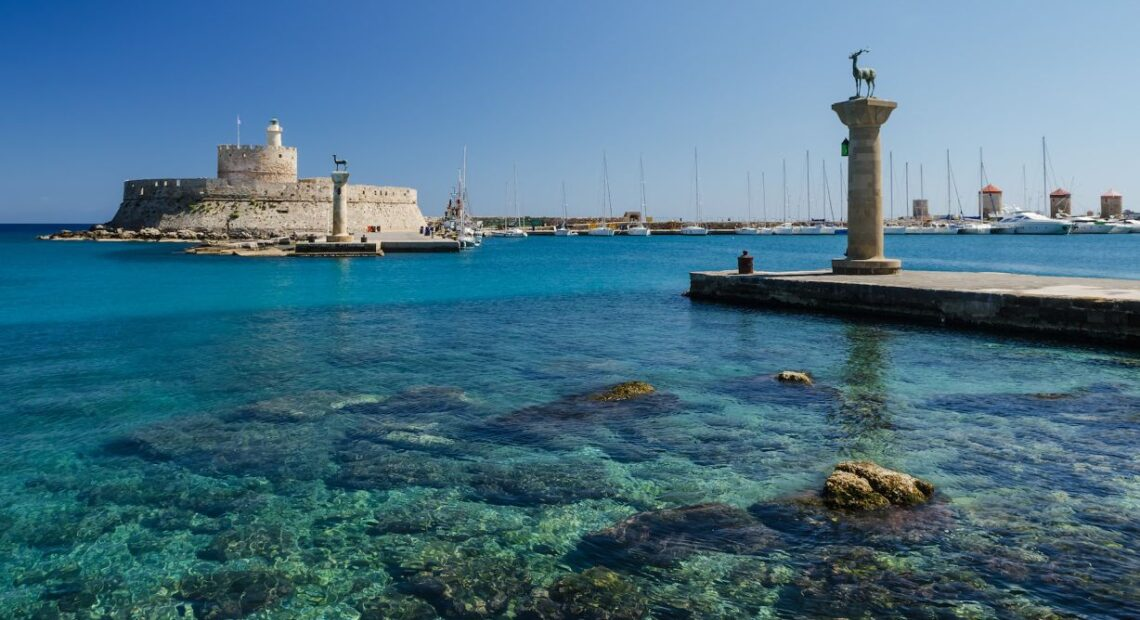 Rhodes to Welcome Dutch Tourists First for Travel Trial