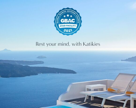 Santorini's Katikies Chromata Hotel Earns GBAC STAR Accreditation