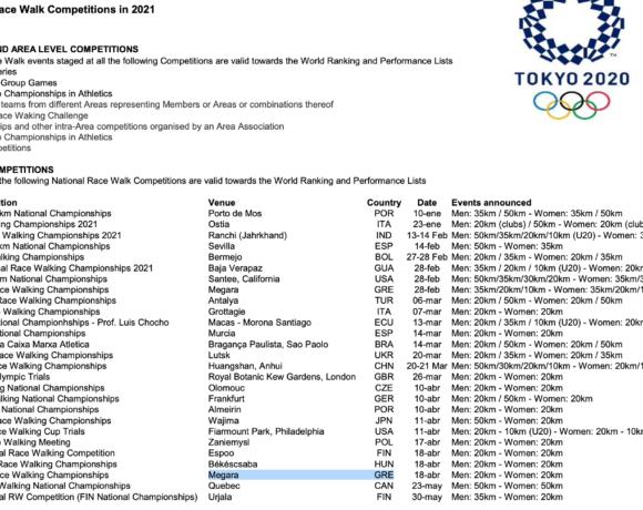 Αγώνας Ολυμπιακής πρόκρισης το πανελλήνιο στα Μέγαρα!