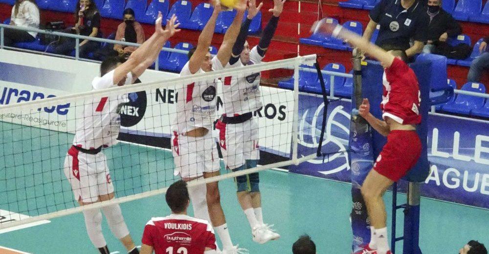 Βόλεϊ λιγκ, Φοίνικας-Ολυμπιακός 0-3: Πάρτι τίτλου στη Σύρο