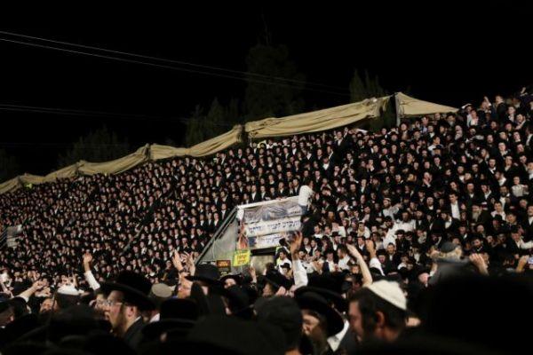 Ισραήλ: Φρίκη στην Μερόν – Υποχώρησε η εξέδρα και ποδοπατήθηκαν – 44 νεκροί