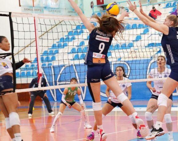Κύπελλο γυναικών, ΑΟ Θήρας-Ολυμπιακός 3-1: Ο ΑΟΘ την πρόκριση, ο Ολυμπιακός το χειροκρότημα