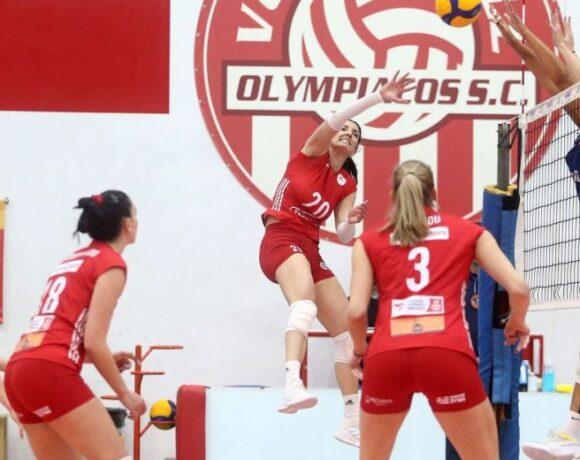 Κύπελλο γυναικών, Ολυμπιακός-Μαρκόπουλο 3-1: Ερυθρόλευκη κυριαρχία