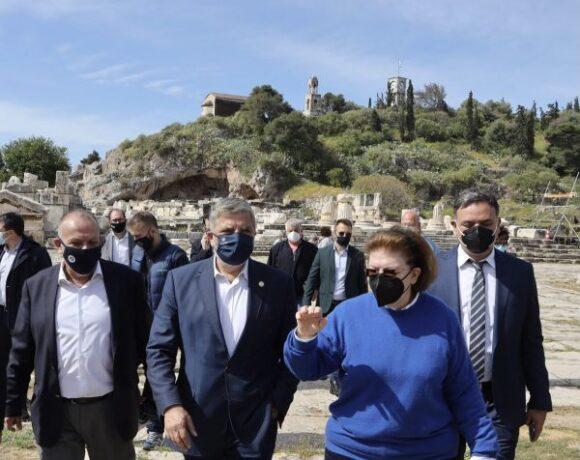 Προχωρούν οι εργασίες στον αρχαιολογικό χώρο της Ελευσίνας