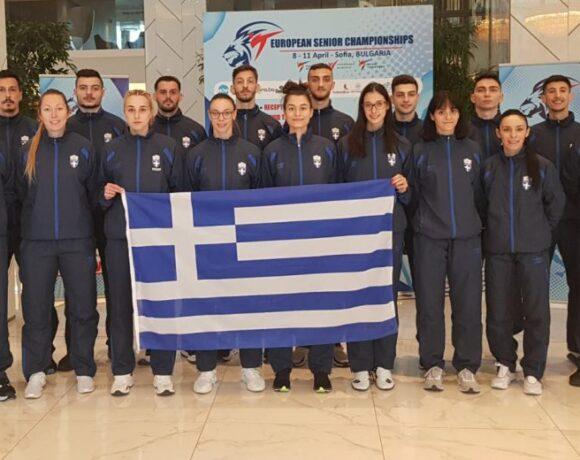 Στη Σόφια και έτοιμη για αγώνες η Εθνική