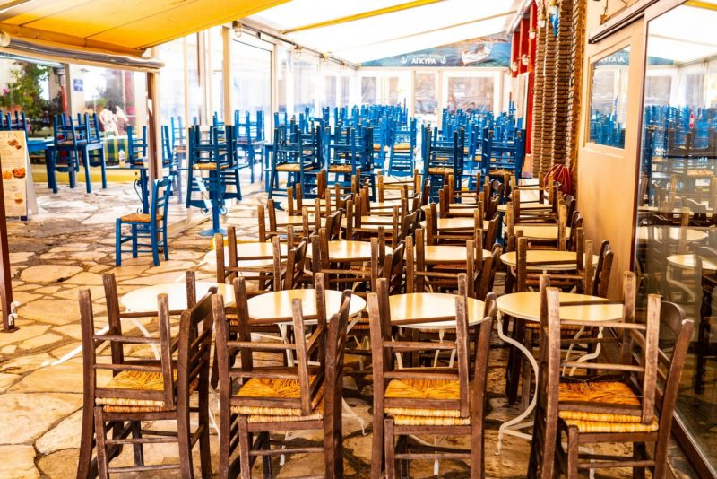 Greece's Covid-hit F&B Sector to Get €330m in Aid