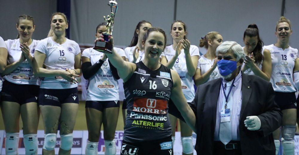 MVP του τελικού η Μόνικα Πότοκαρ
