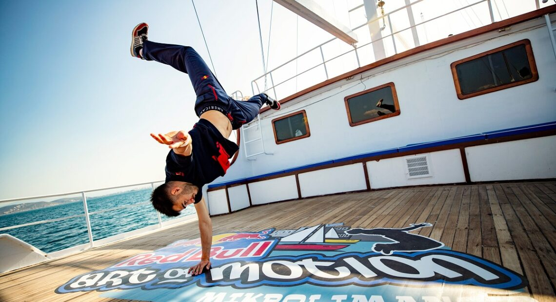 Piraeus to Host 'Red Bull Art of Motion' Freerunning Event in July