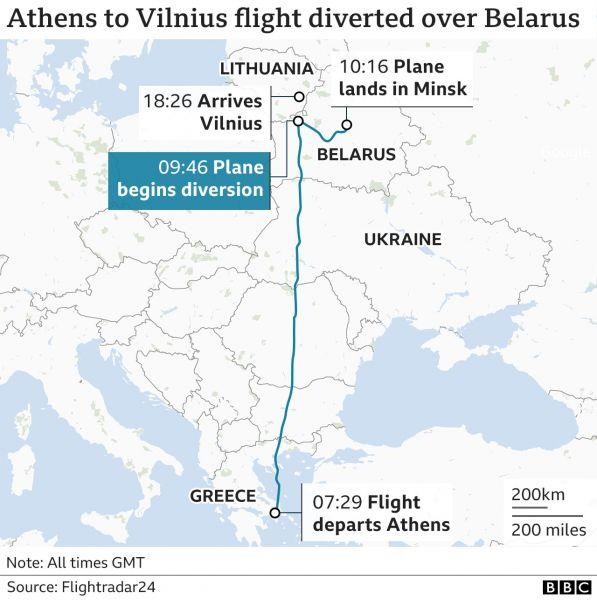 Αεροπειρατεία στη Λευκορωσία: Τα δεδομένα και τα θολά σημεία της υπόθεσης