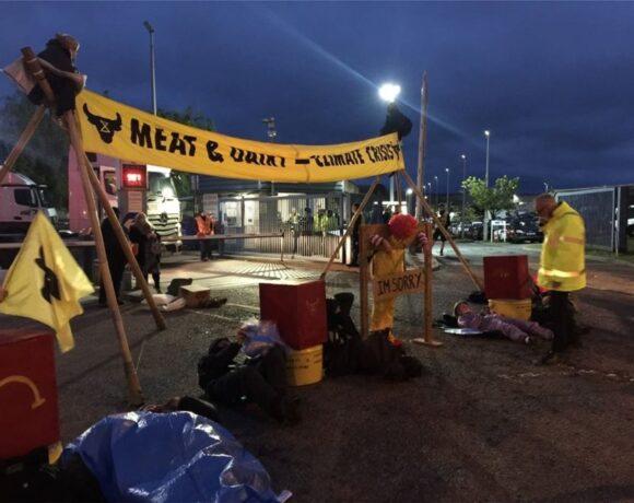 Βρετανία: Vegan ακτιβιστές μπλόκαραν σημεία τροφοδοσίας της McDonald's