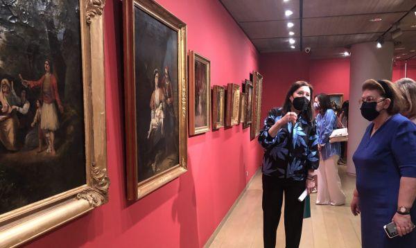 «Η Ελληνίδα του '21 στη φιλελληνική Τέχνη» – Έκθεση στο Ίδρυμα Βασίλη και Μαρίνας Θεοχαράκη