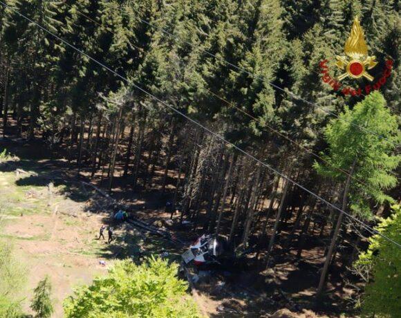 Ιταλία: 9 νεκροί από πτώση καμπίνας τελεφερίκ κοντά στη λίμνη Ματζιόρε