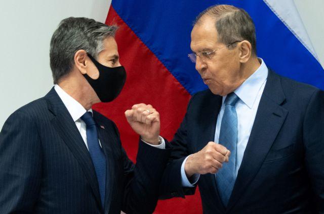 Λαβρόφ – Μπλίνκεν: Ενώ συζητούσαν, οι ΗΠΑ επέβαλαν κυρώσεις για τον Nord Stream 2