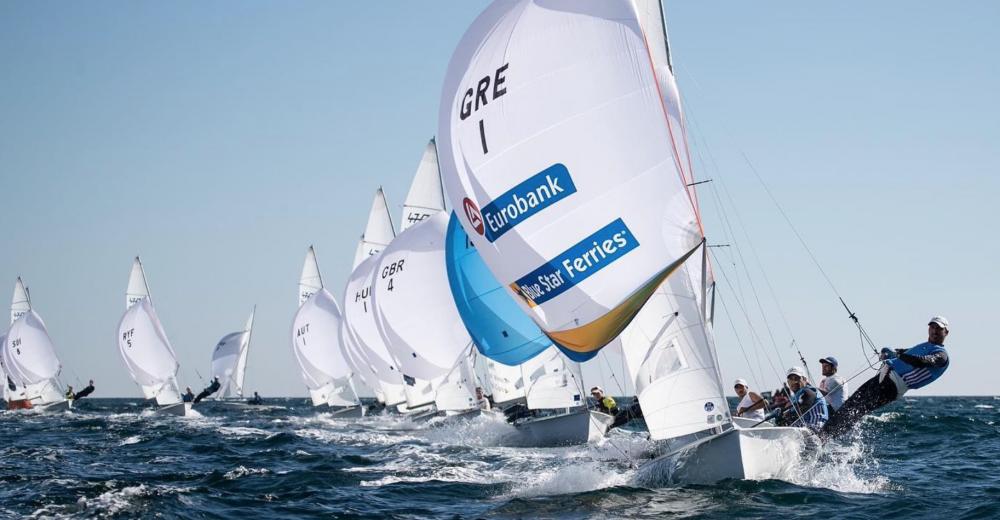 Μέτρια μέρα για τα ελληνικά 470 στο ευρωπαϊκό