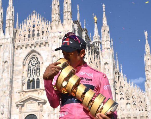 Νικητής του γύρου Ιταλίας ο Μπερνάλ!