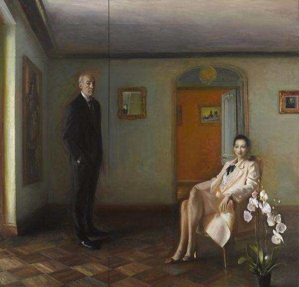 Ο σπουδαίος Γιώργος Ρόρρης στο Μουσείο Σύγχρονης Τέχνης στην Άνδρο