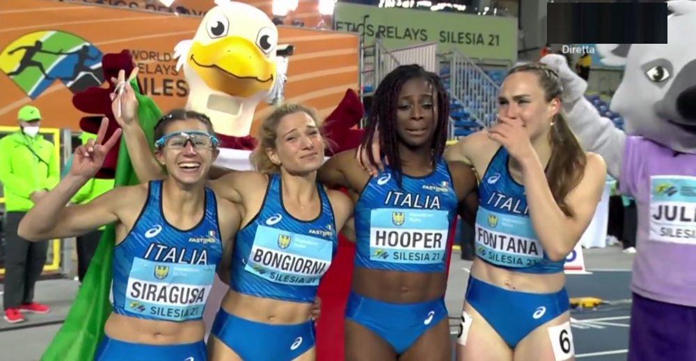 Σιλεσία 2021: Ιπτάμενες Ιταλίδες στα 4Χ100μ!