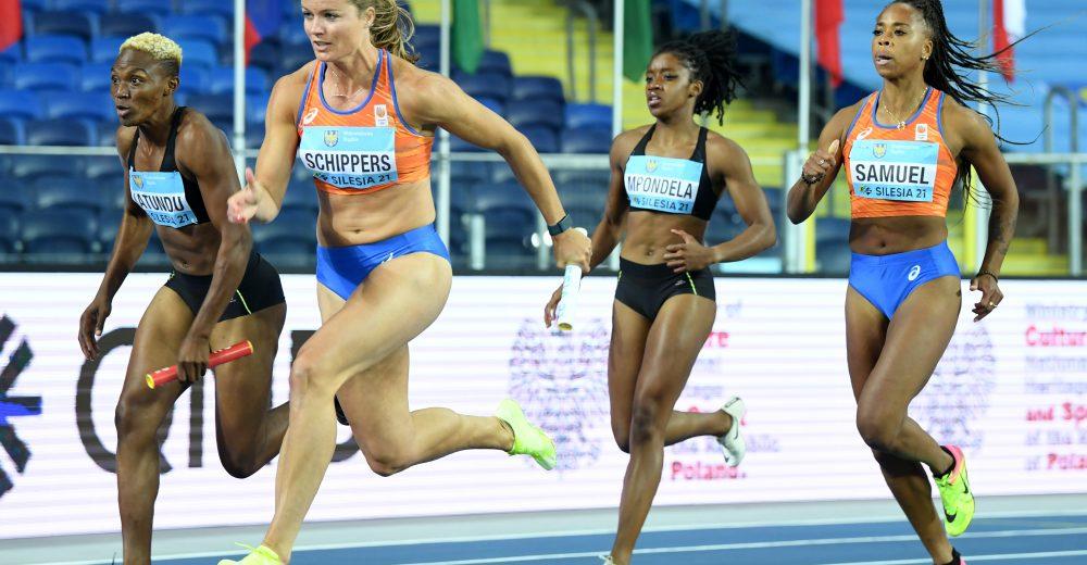Σιλεσία 2021: Ολλανδία και στα 4Χ100μ γυναικών