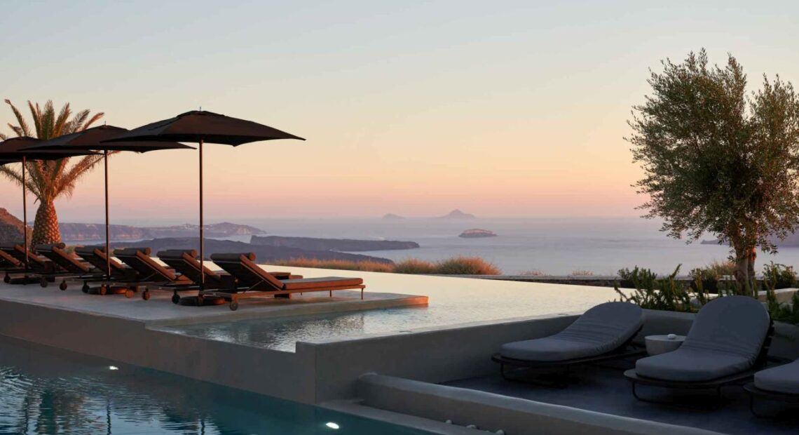 Epoque Collection Introduces a Chic Island Oasis: the OMMA Santorini