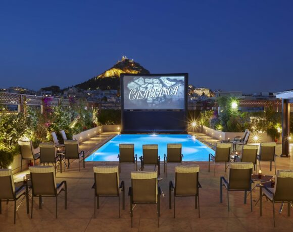 Hotel Grande Bretagne to Offer Summer Cinema Experiences in Athens