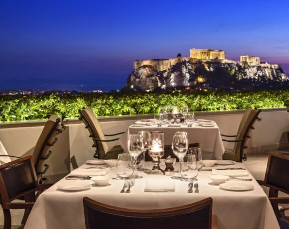 Hotel Grande Bretagne's GB Roof Garden Re-opens on May 3