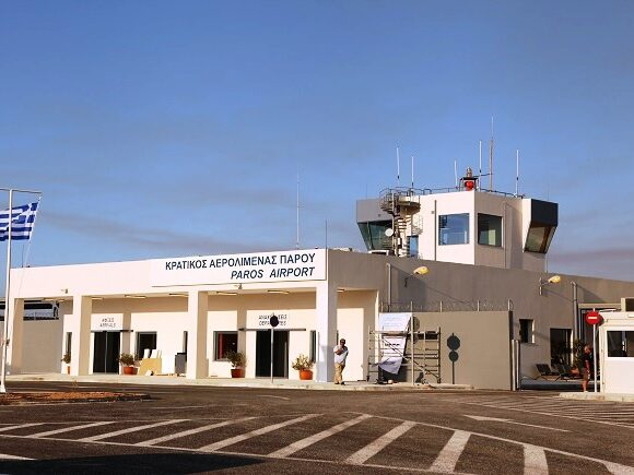 Paros Airport Aiming to Become International Gateway