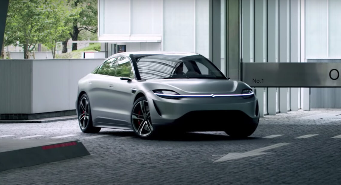 Sony Vision-S: Ένα πανέμορφο ηλεκτρικό concept αυτοκίνητο