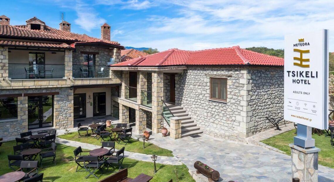 Tsikeli Hotel Meteora Ready to Open its Doors