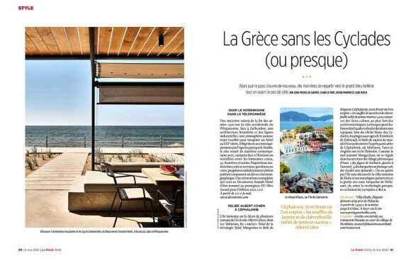 Unexplored Parts of Greece Shine in France's 'Le Point' Magazine